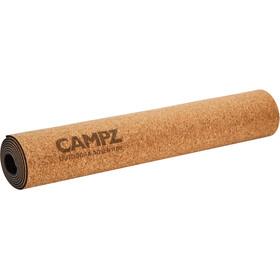 CAMPZ Cork Yoga Mat L Vrikshasana brown